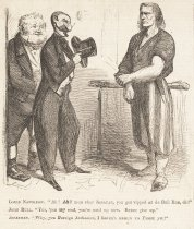 Image of 'Ah! Ah! mon cher Jonatan, you got vipped at de Bull Run, ch?' - McLenan, John, 1827-1865